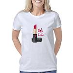 Name Tag Organic Women's T-Shirt (dark)