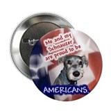 "Schnauzer items 2.25"" Button (10 pack)"