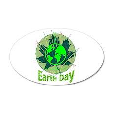 Earth Day, Technical 38.5 x 24.5 Oval Wall Peel