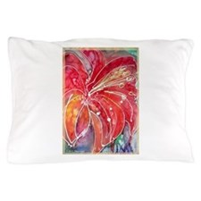 Lily, bright, flower art! Pillow Case