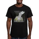Umbrella Cockatoo 2 Men's Fitted T-Shirt (dark)