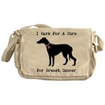 Greyhound Personalizable I Bark For A Cure Messeng