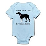 Greyhound Personalizable I Bark For A Cure Infant