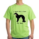 Irish Setter Personalizable I Bark For A Cure Gree