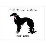 Irish Setter Personalizable I Bark For A Cure Smal