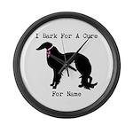 Irish Setter Personalizable I Bark For A Cure Larg