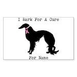 Irish Setter Personalizable I Bark For A Cure Stic