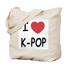 I heart k-pop Tote Bag