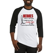 Heroes All Sizes Juv Diabetes Baseball Jersey