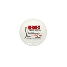 Heroes All Sizes Juv Diabetes Mini Button (10 pack