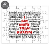I am More Than Autism Puzzle