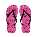 Nurse Pink Nursing Flip Flops