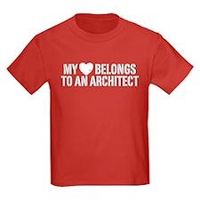 My Heart Belongs To An Architect T