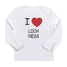 I heart loch ness Long Sleeve Infant T-Shirt
