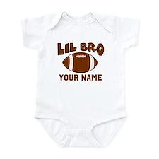 Lil Bro Football Onesie
