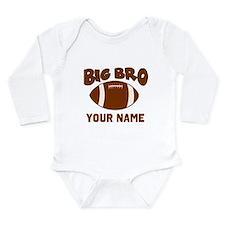 Big Bro Football Baby Outfits