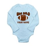 Big Bro Football Long Sleeve Infant Bodysuit
