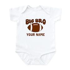 Big Bro Football Infant Bodysuit
