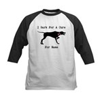 Pointer Personalizable I Bark For A Cure Kids Base