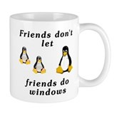 Friends don't let friends - Mug