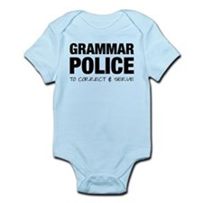 Grammar Police Infant Bodysuit