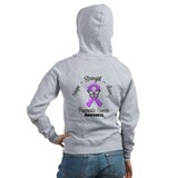 Pancreatic cancer Zip Hoodies