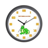 Green Dragold Wall Clock