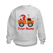 3rd Birthday Dump Truck Sweatshirt