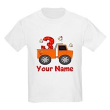 3rd Birthday Dump Truck T-Shirt