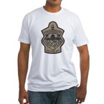 VT State Police Tac Fitted T-Shirt