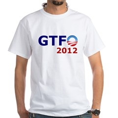 GTFO 2012 White T-Shirt