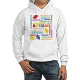 Autism Awareness Collage Jumper Hoody