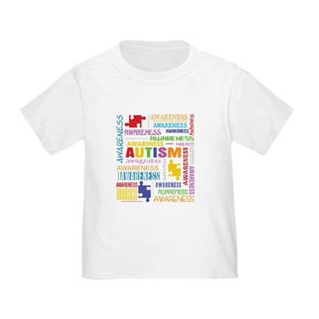 Autism Awareness Collage Toddler T-Shirt