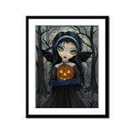 October Woods Framed Panel Print