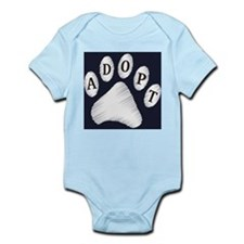 animal adopt sign Infant Bodysuit