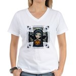 October Woods Women's V-Neck T-Shirt