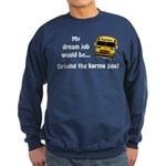 Karma Bus Sweatshirt (dark)