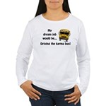 Karma Bus Women's Long Sleeve T-Shirt