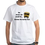 Karma Bus White T-Shirt