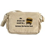 Karma Bus Messenger Bag