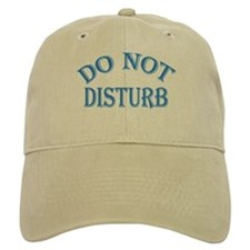 Do Not Disturb Sign Baseball Cap