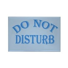 Do Not Disturb Sign Rectangle Magnet (10 pack)