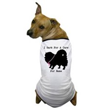 Pomeranian Personalizable I Bark For A Cure Dog T-