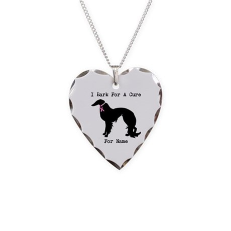 Irish Setter Personalizable I Bark For A Cure Neck