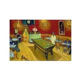Van Gogh - Night Cafe Rectangle Magnet