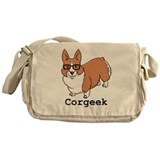 Corgeek Messenger Bag