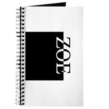 ZOE Typography Journal