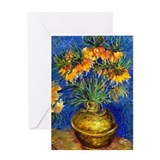 Van Gogh - Fritillaries Greeting Card