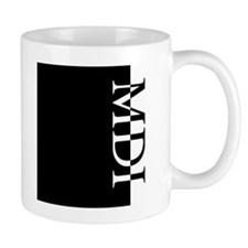 MDI Typography Mug