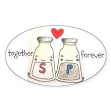 Salt + Pepper = Forever Decal